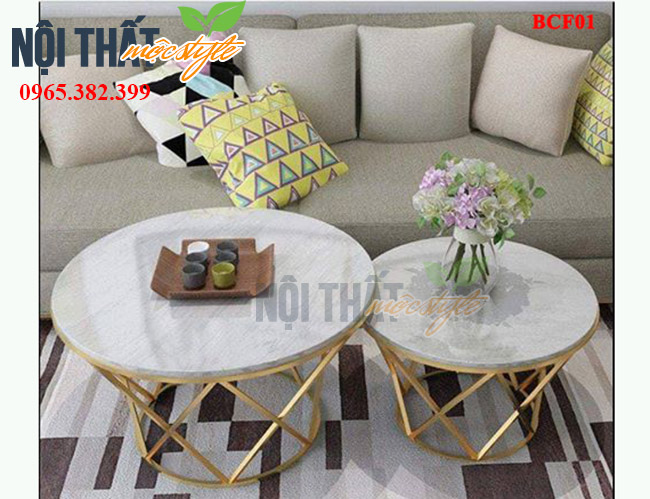 Bàn decor BCF01sang trọng bậc nhất cho phòng khách của bạn