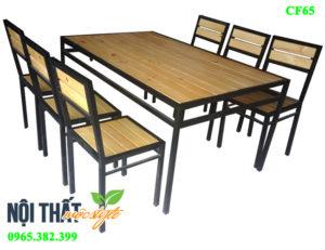 noithatmocstyle.vn-Bàn ghế nhà hàng CF65 giá rẻ