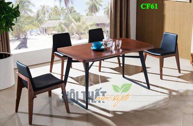 Mẫu bàn ghế cafe CF61 mang đậm phong cách Scandinavian
