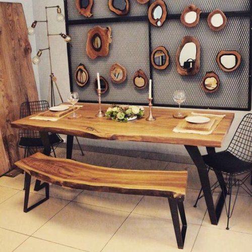 Mẫu bàn ghế nguyên tấm CF50 đẹp giá rẻ nhất Hà Nội