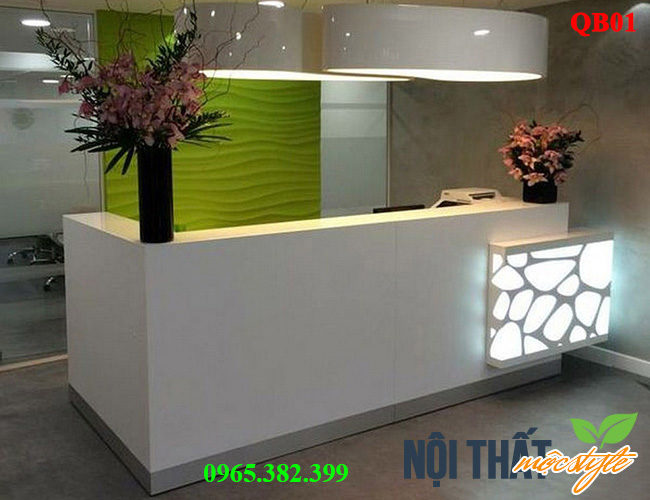 noithatmocstyle.vn-Quầy bar, quầy lễ tân sang trọng mã QB01