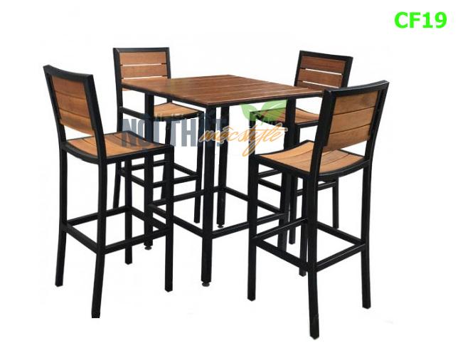 noithatmocstyle.vn-Bàn ghế bar cafe CF19 bền, đẹp, giá rẻ nhất