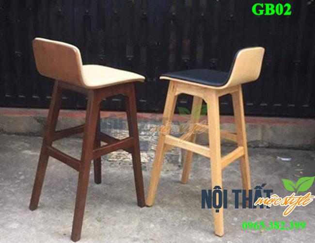 Ghế bar cafe GB02 thiết kế đẹp-noithatmocstyle.vn