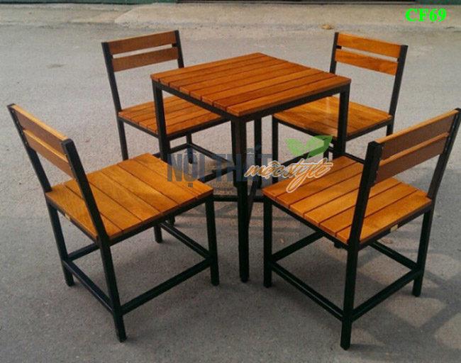 Bàn ghế cafe CF69 rẻ nhất-noithatmocstyle.vn