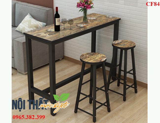 noithatmocstyle.vn-Bàn ghế bar CF84 đẹp, giá rẻ