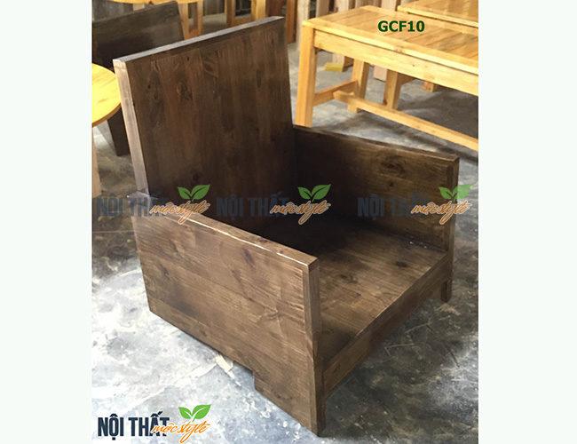 Ghế cafe gỗ GCF10 với phong cách Vintage - nội thất Mộc Style
