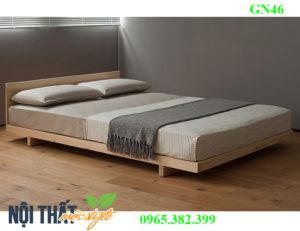 Giường palelt GN46 đẹp mộc mạc, giá rẻ nhất hà nội, bền vượt trội