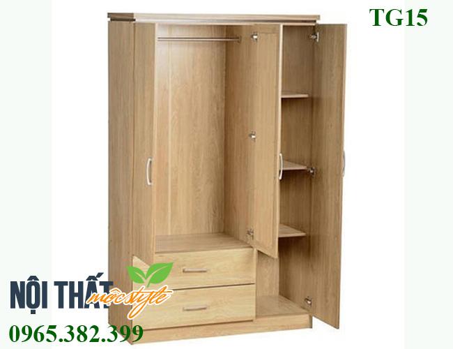 tủ gỗ giá rẻ Tủ quần áo TG15 Tủ quần áo gỗ tự nhiên tại Hà Nội giá rẻ nhất tủ gỗ giá rẻ