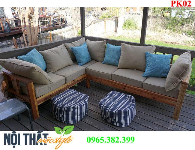 bàn ghế phòng khách PK02 đẹp hiện đại phong cách Châu Âu được ưa chuộng nhất