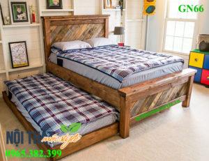 Mẫu Giường ngủ GN66 đẹp, độc, tiện dụng