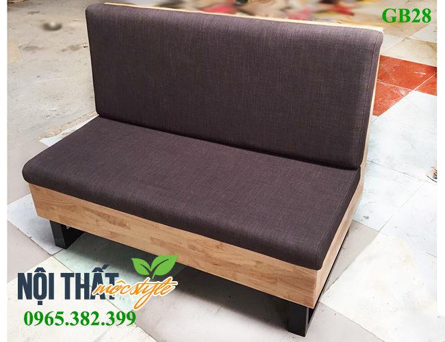 Mẫu Ghế băng dài GB28, ghế sofa cafe rẻ đẹp-noithatmocstyle.vn