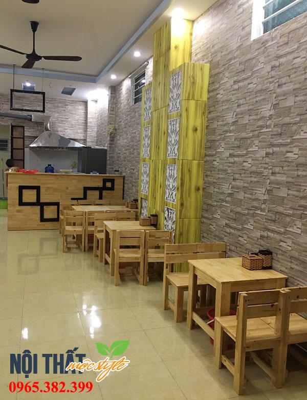 Một góc quán ăn vặt đẹp tại Vĩnh Phúc với cái tên chất Quầy Mặn