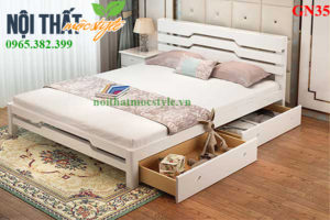 Giường ngủ GN35