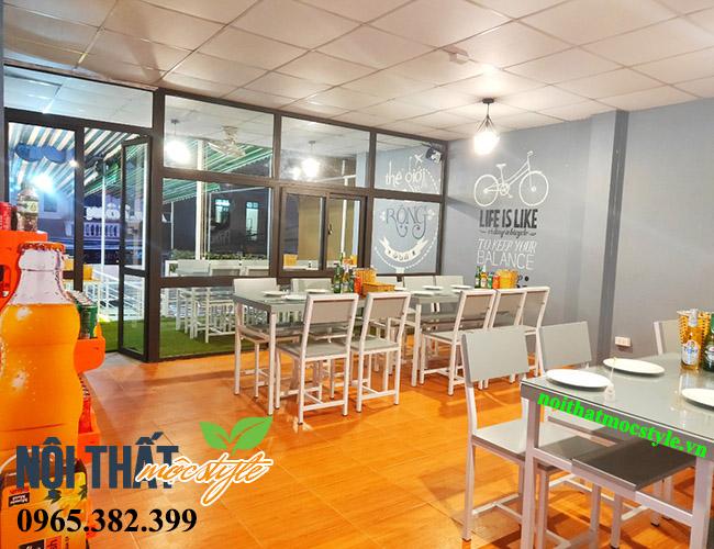 Nhà hàng hải sản Tom-Dự án nhà hàng đẹp ở Hà Nội