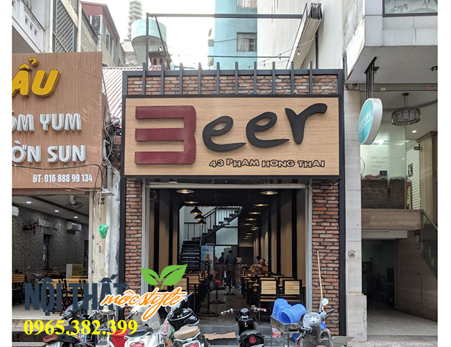 Nhà hàng Beer 43 Phạm Hồng Thái thu hút mọi thực khách-noithatmocstyle.vn
