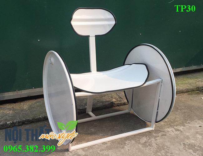 mẫu Ghế thùng phi TP30 độc đáo sở hữu kích thước khủng