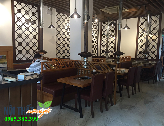 Nhà hàng lẩu nướng với dư vị phong cách cổ Hàn cổ điển, trầm ấm làm nao lòng người