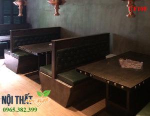 Mẫu Bàn ghế nhà hàng CF108 cho không gian lẩu nướng Hàn Quốc, Nhật Bản sang trọng