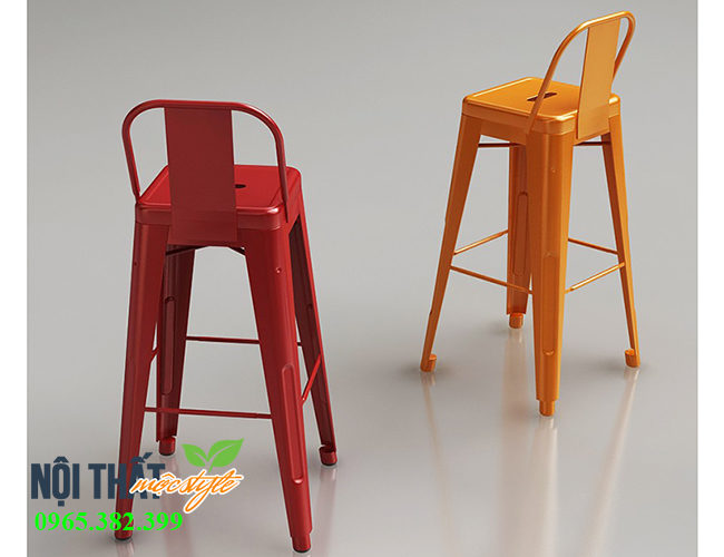 Ghế bar Tolix nhập khẩu, chất lượng cao, giá tận gốc duy chỉ có tại nội thất Mộc Style