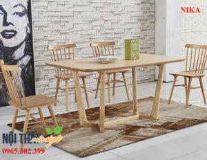 Ghế gỗ Nika xuất khẩu được sử dụng với nhiều mục đích khác nhau vì dễ kết hợp với nhiều kiểu phong cách nội thất