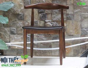 Ghế gỗ cafe CF46-ghế bull thiết kế cao cấp tại Hà Nội