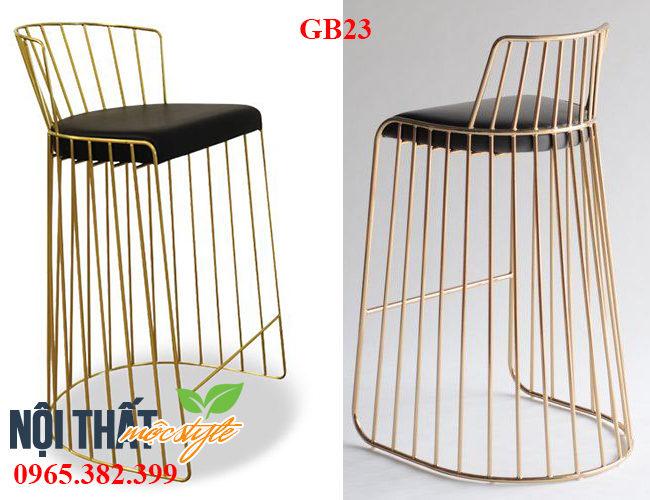 Ghế bar cafe GB23 tạo sức hút cho nhà hàng sang trọng, hiện đại