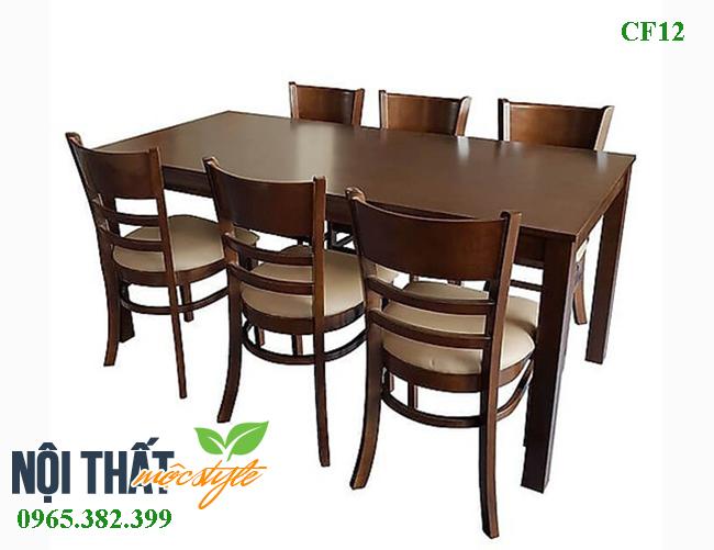 Mẫu bàn ghế ăn giá rẻ nhất, chỉ 3,5 triệu cho bộ bàn ăn  6 ghế hiện đại, đẹp và gọn gàng