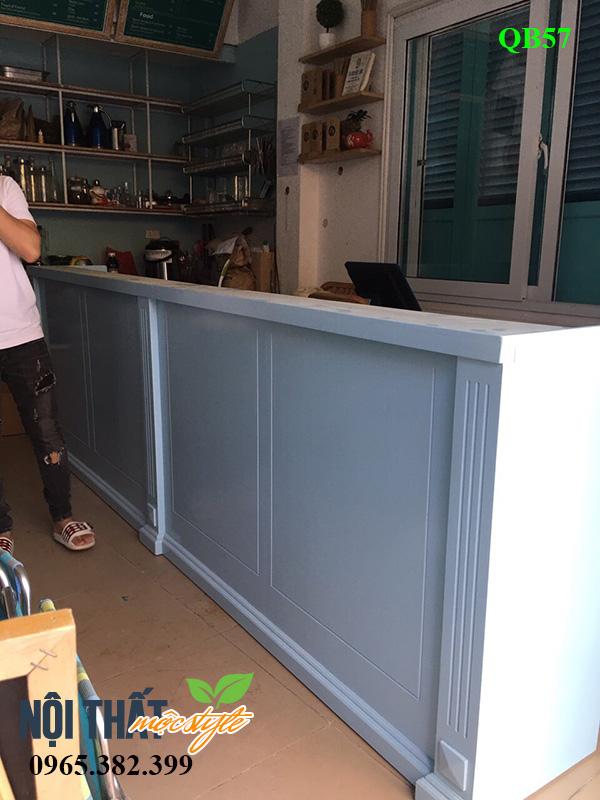Quầy bar cafe đẹp cho không gian nhỏ hẹp vẫn dư sức tạo ấn tượng
